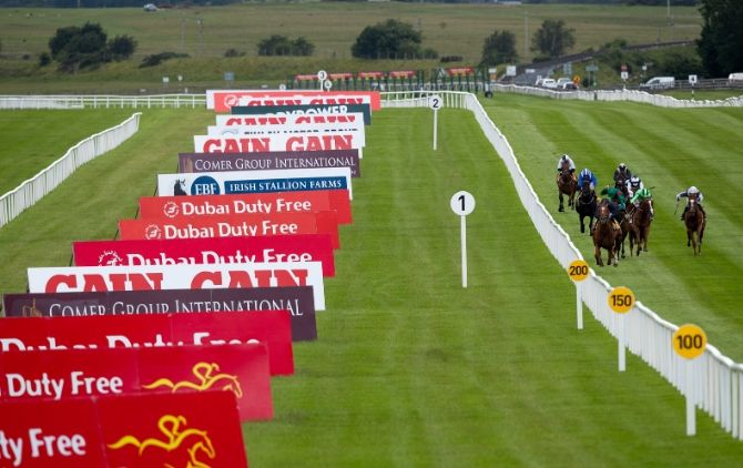 Free bus for horse racing at the Curragh