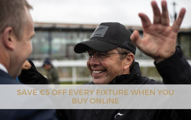 Save on tickets to the Curragh races online