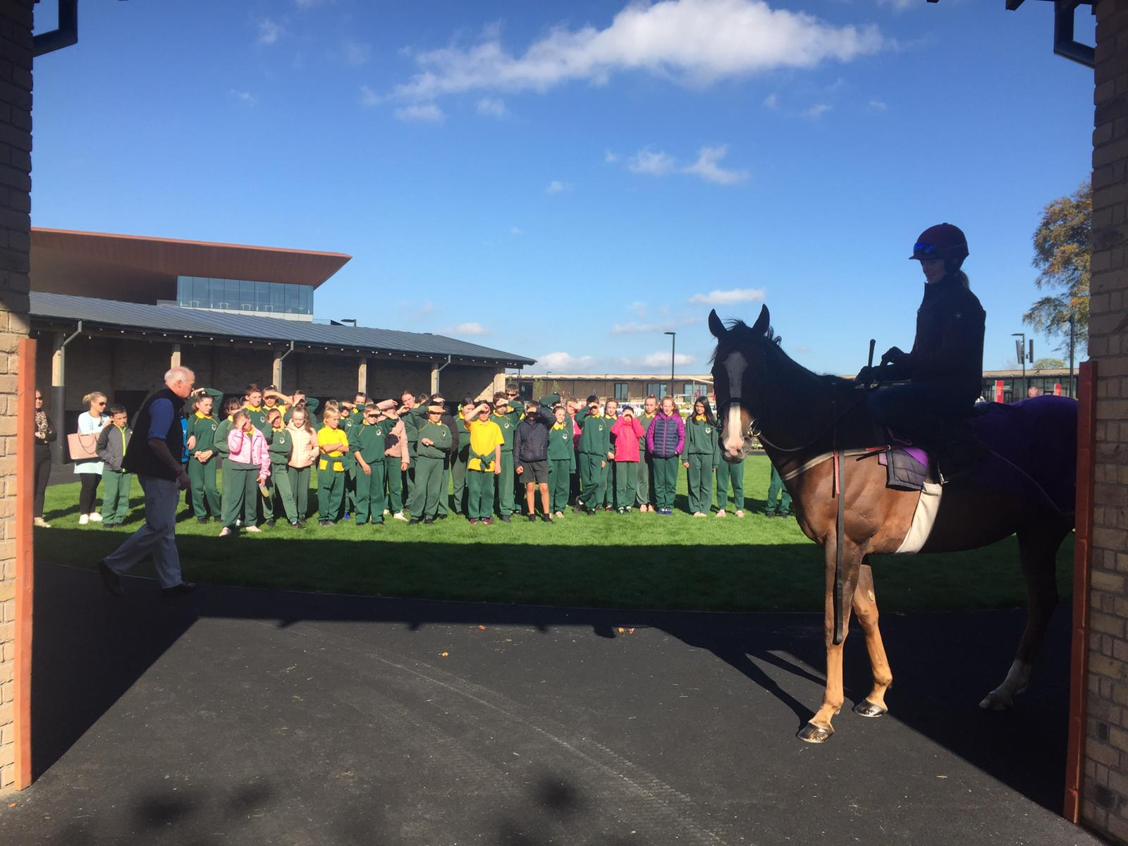 The Curragh host 'Go Racing Kids Club' Education Day