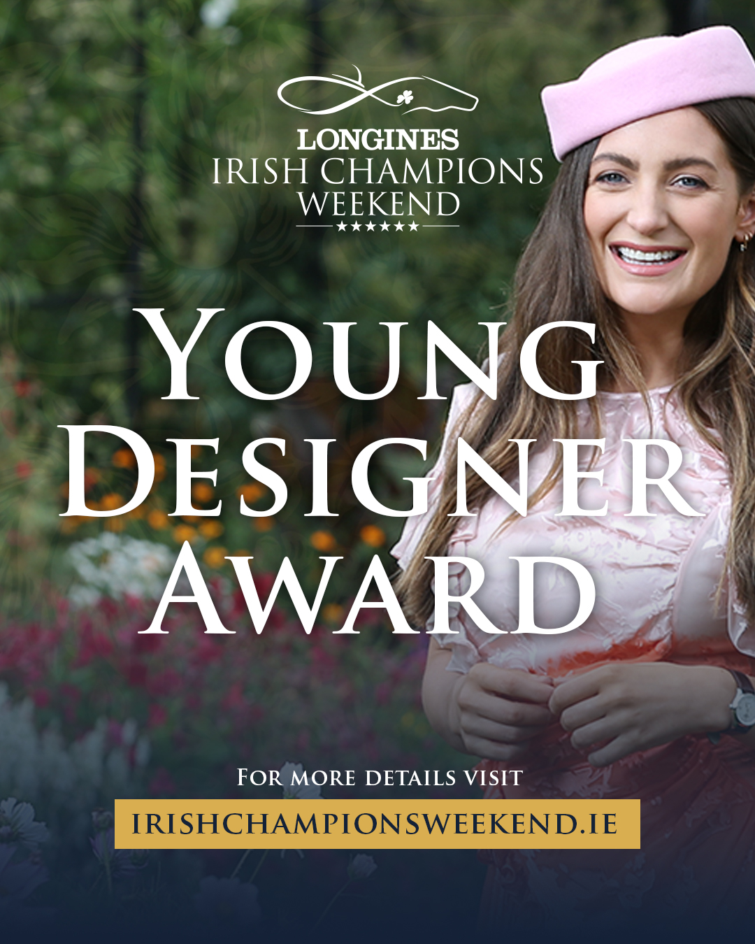 Stylist Courtney Smith Launches the Young Designer Award as part of Longines Irish Champions Weekend festival