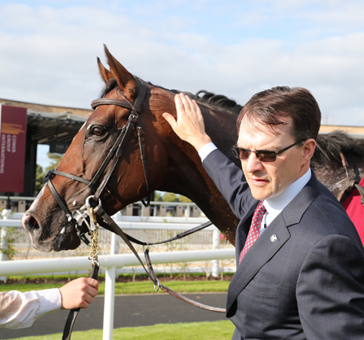 The Aidan O'Brien-trained Southern France booked his Comer Group International Irish St Leger ticket with a convincing success in Friday's Group 3 trial at the Curragh under Ryan Moore.